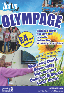 Olympage 2019 poster