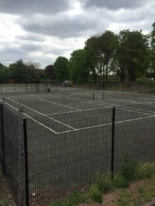 Bedworth netball courts